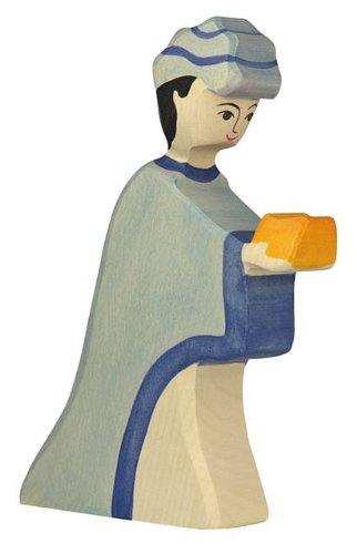 Holztiger Casper Toy Figure Blue