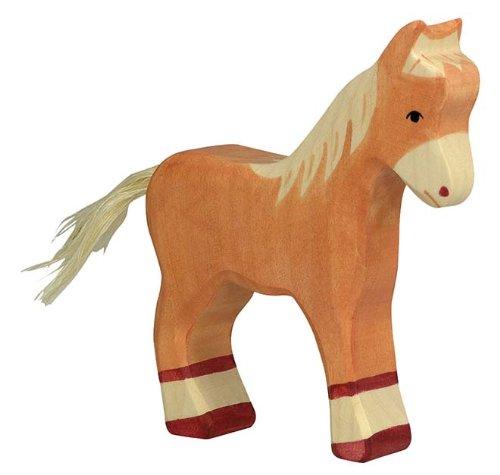 Holztiger Colt Standing Toy Figure Light Brown