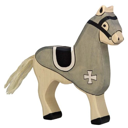 Holztiger Competition Horse Toy Figure Black