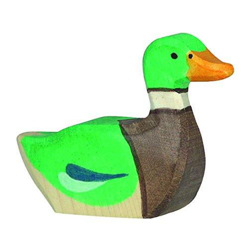 Holztiger Drake Swimming Toy Figure
