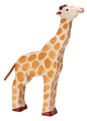 Holztiger Giraffe Heads Up Toy Figure