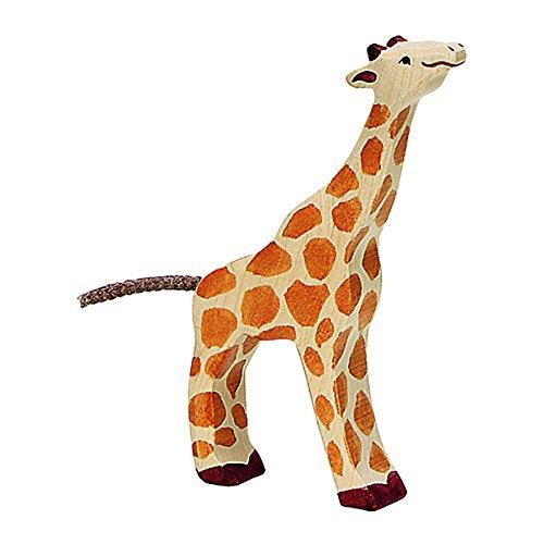 Holztiger Giraffe Klein Eating Toy Figure