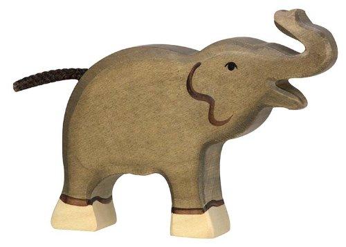 Holztiger Little Elephant Trunk Highly Toy Figure