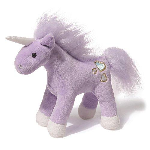 Gund Musical Plush Unicorn Chatters 6 Inch Purple
