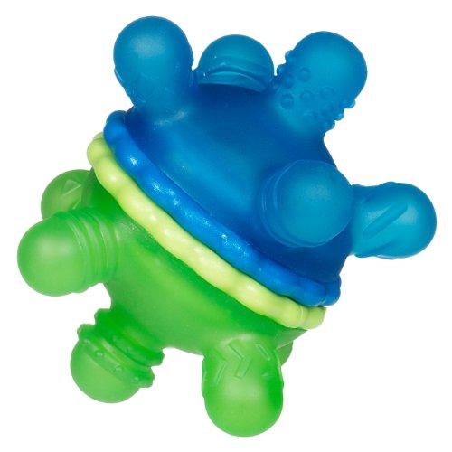 Munchkin Twisty Teether Ball - Green Blue