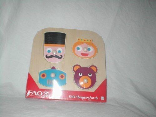 FAO Schwarz Character Puzzle by FAO Schwarz