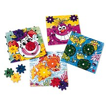 Learning Resources Gears Gears Gears Gears Activity Card Set