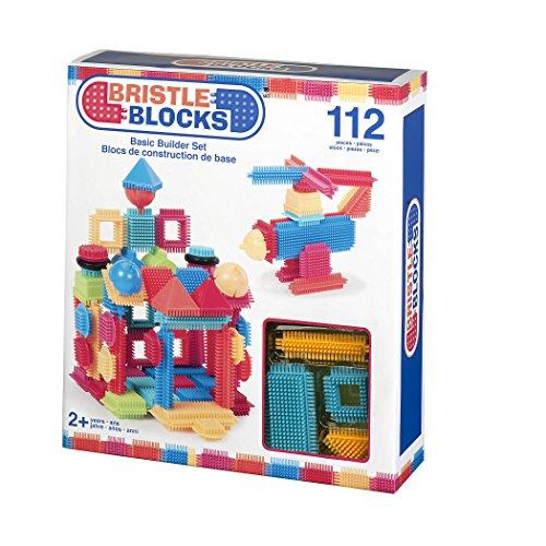 Bristle Blocks by Battat - The Official Bristle Blocks - 112Piece - Creativity Building Toys Dexterity Fine Motricity - Bpa Free 2 Years