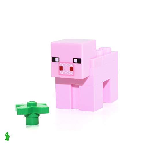 LEGO Minecraft Animal Minifigure - Minecraft Pig from Set 21115