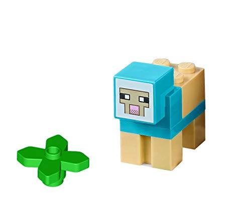 LEGO Minecraft Minifigure - Medium Azure Sheep Animal from Set 21134