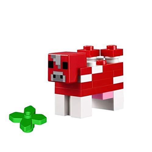 LEGO Minecraft Minifigure - Mooshroom Mushroom Cow with Plant 21116