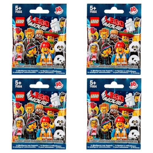 LEGO Minifigures - The LEGO Movie Series 71004 FOUR random packs