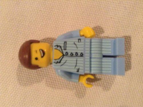 The LEGO Movie Pyjamas Emmet - Rare Minifigure
