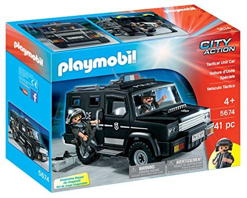 PLAYMOBIL Tactical Unit Car Playset