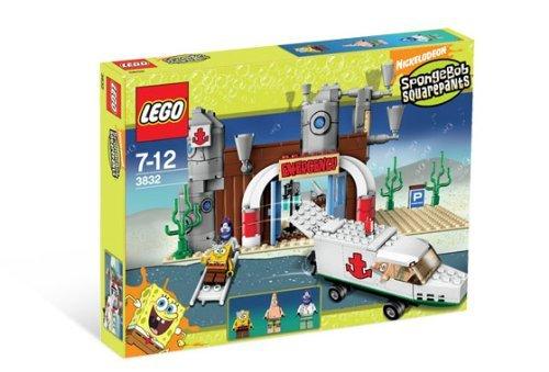 SpongeBob Squarepants Exclusive Limited Edition Lego Set 3832 Emergency Room