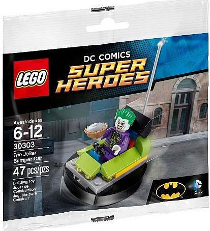 T Y Shop the Joker Bumper Car  30303 Mini-figures Lego Toys