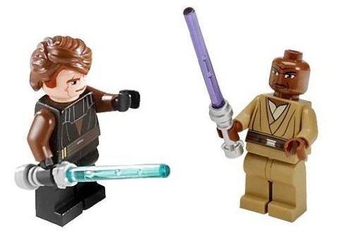 Anakin Skywalker Mace Windu Loose Lego Star Wars Clone Wars Figures