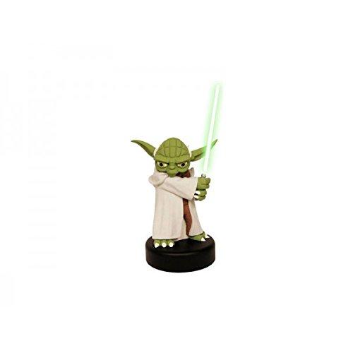 Joy Toy - Star Wars The Clone Wars Figure With Light Sound Yoda 14cm