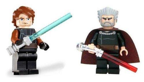 Lego Anakin Skywalker Count Dooku Loose Star Wars Clone Wars Figures