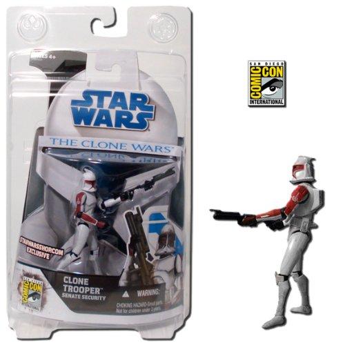 Star Wars Clone Wars Clone Trooper Senate Security Figure SDCC Exclusive