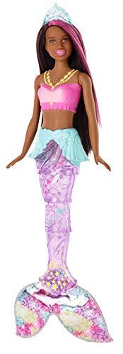 Barbie Dreamtopia Sparkle Lights Mermaid Brunette