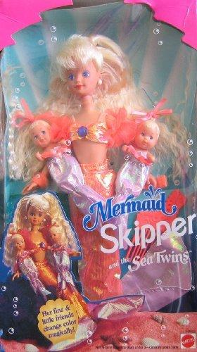 Barbie MERMAID SKIPPER Sea Twins Dolls 1993