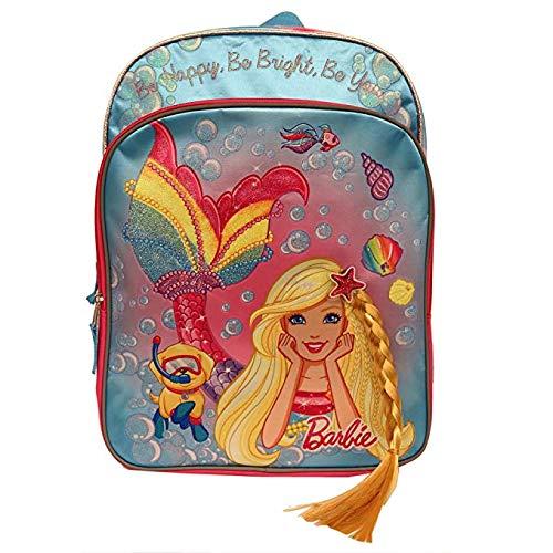 Mermaid Barbie Accessory Innovations Backpack Girls Side Mesh Pockets