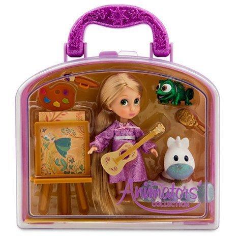 Disney Animators Collection Rapunzel Mini Doll Play Set - 5