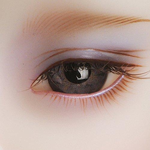 Dollmore Eye 14mm Solid Glass Doll Eyes - PW25B