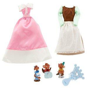 Princess Cinderella Doll Wardrobe and Friends Set