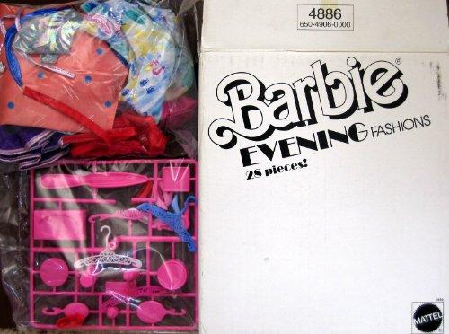 Barbie Evening Fashions Accessories Pack 28 Pieces 1989 Mattel Hawthorne