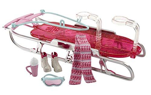 Barbie Lets Go Sled Toboggan Accessory Pack