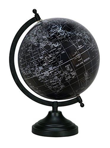 Décorative Rotating Miniature Dollhouse Desktop Globe Table Office Décor