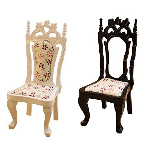 Remeehi DIY Dollhouse Furniture Accessories Chair