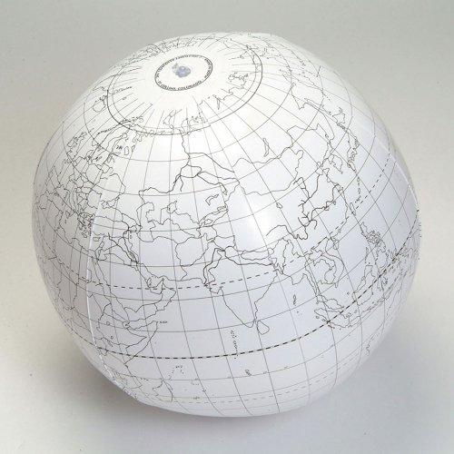 Writable 24 Inflatable Globe
