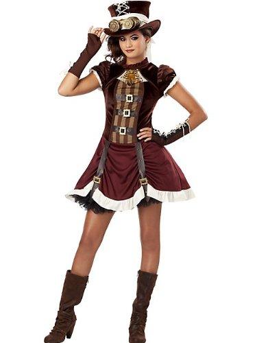 California Costumes Steampunk Girl Tween Costume Large