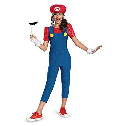 Disguise Nintendo Super Mario Brothers Mario Tween Costume Medium7-8