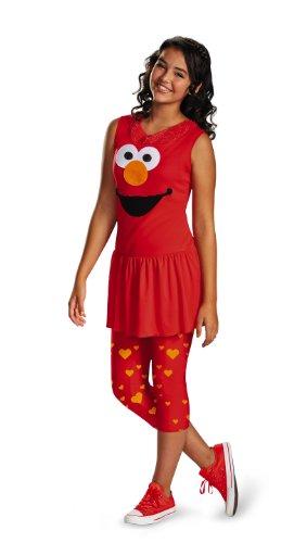Disguise Sesame Street Elmo Tween Classic Tween Costume X-Large14-16