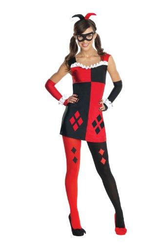 Rubies DC Super Villains Harley Quinn Tween Costume Small