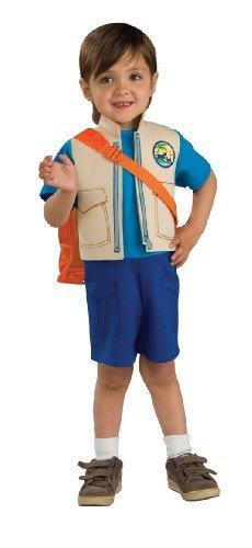 Nick Jr Dora The Explorer Childs Diego Costume with Backpack Medium by Dora the Explorer