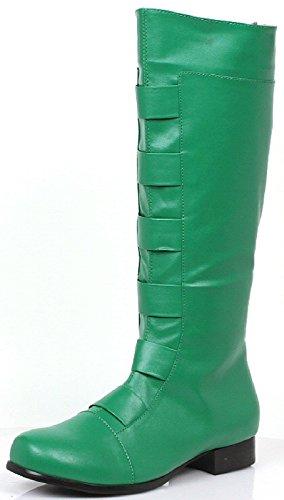 Mens Green Costume Boots - Medium 1011