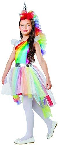 Rainbow Unicorn Dress Up Costume Small 4-6