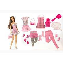 Barbie Doll Fashions Gift Set w Teresa Doll 5 Fashions - Toys R Us Exclusive 2008