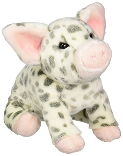 Douglas Cuddle Toys Pauline Spotted Pig Plush Toy 10 H
