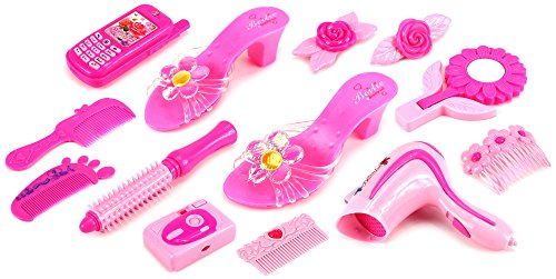 Magical Beauty Pretend Play Toy Fashion Beauty Play Set w Assorted Beauty Accessories