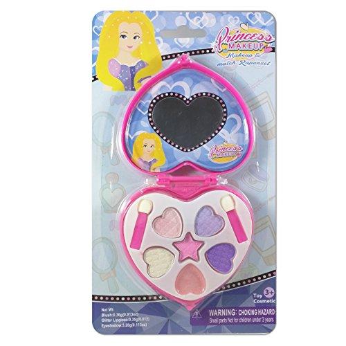 Princess Makeup to Match Disneys Rapunzel Dress
