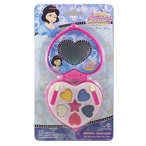Princess Play Makeup to Match Snow White