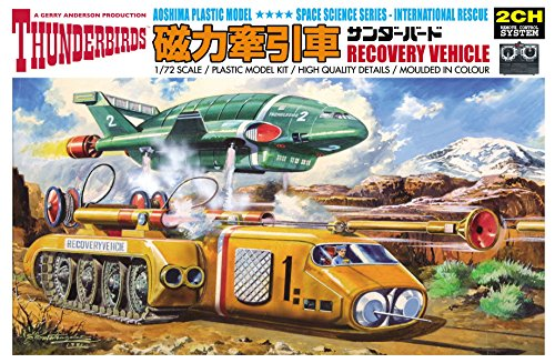 Aoshima Models Thunderbirds Recovery Vehicle Remote Control Model Model Kit 172 Scale
