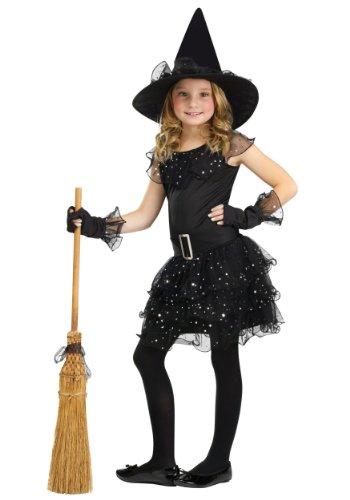 Glitter Witch Child Costume Medium