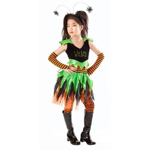 Wicked Witch Child Costume Size Medium 8
